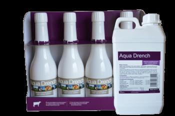 Aqua Drench en début de lactation