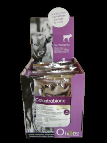 Colostrobione colostrum pour veau