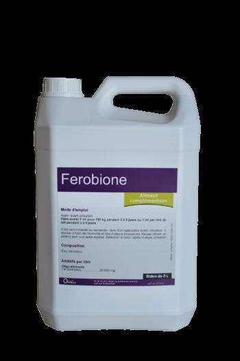 Ferobione, lutte contre les carences des veaux en fer