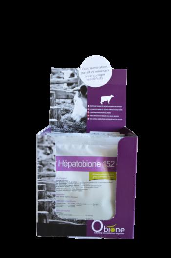 Hépatobione 152 aliments complémentaires vaches et veaux pour un foie en bonne santé