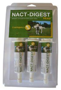Nact-Digest aliments complémentaires pour veaux lors de déséquilibre digestif