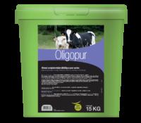 Oligopur, aliments complémentaires pour vaches riche en iode, sélénium, et zinc pour compléter les apports à l'herbe de la vache en fin de gestation