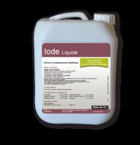Iode Liquide, iode pour vaches avec apport prolongé en oligo-éléments