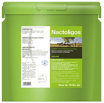 Nactoligos aliment complémentaire bio composé d'oligo-éléments et vitamines - iode, sélénium et zinc, contre les carences des vaches