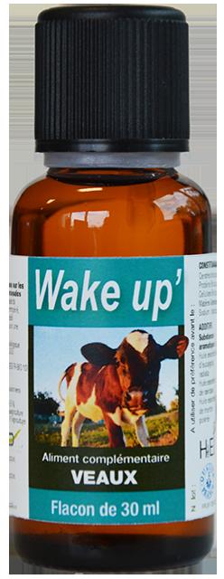 Wake Up' huiles essentielles pour les veaux dès la naissance