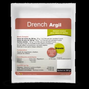 Drench Argil est utilisé lorsque le transit de la vache est perturbé.