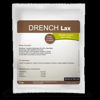Drench Lax est utilisé lorsque le transit de la vache est ralenti