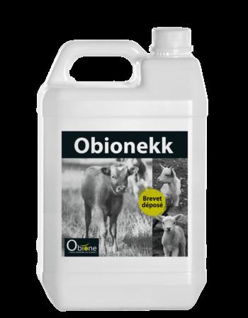 Obionekk aliment complémentaire à base de zinc pour veaux