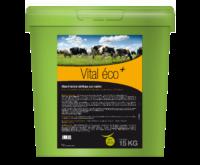 Vital Éco+ aliment complémentaire utilisé lors de besoins d'apports complémentaires en oligo-éléments et vitamines en fin de gestation des vaches