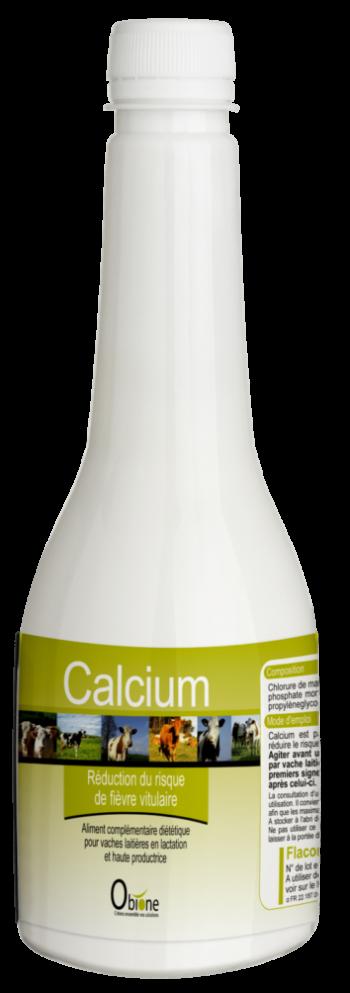 Calcium est une solution buvable riche en calcium pour les vaches laitières