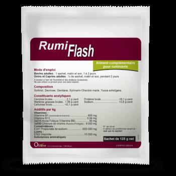 RumiFlash, aliment complémentaire pour vaches pour relancer le rumen et la rumination