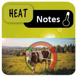 HeatNotes est une application qui permet à la fois de caractériser le stress thermique subit par les animaux et de proposer le programme de gestion du risque lié à ce stress.
